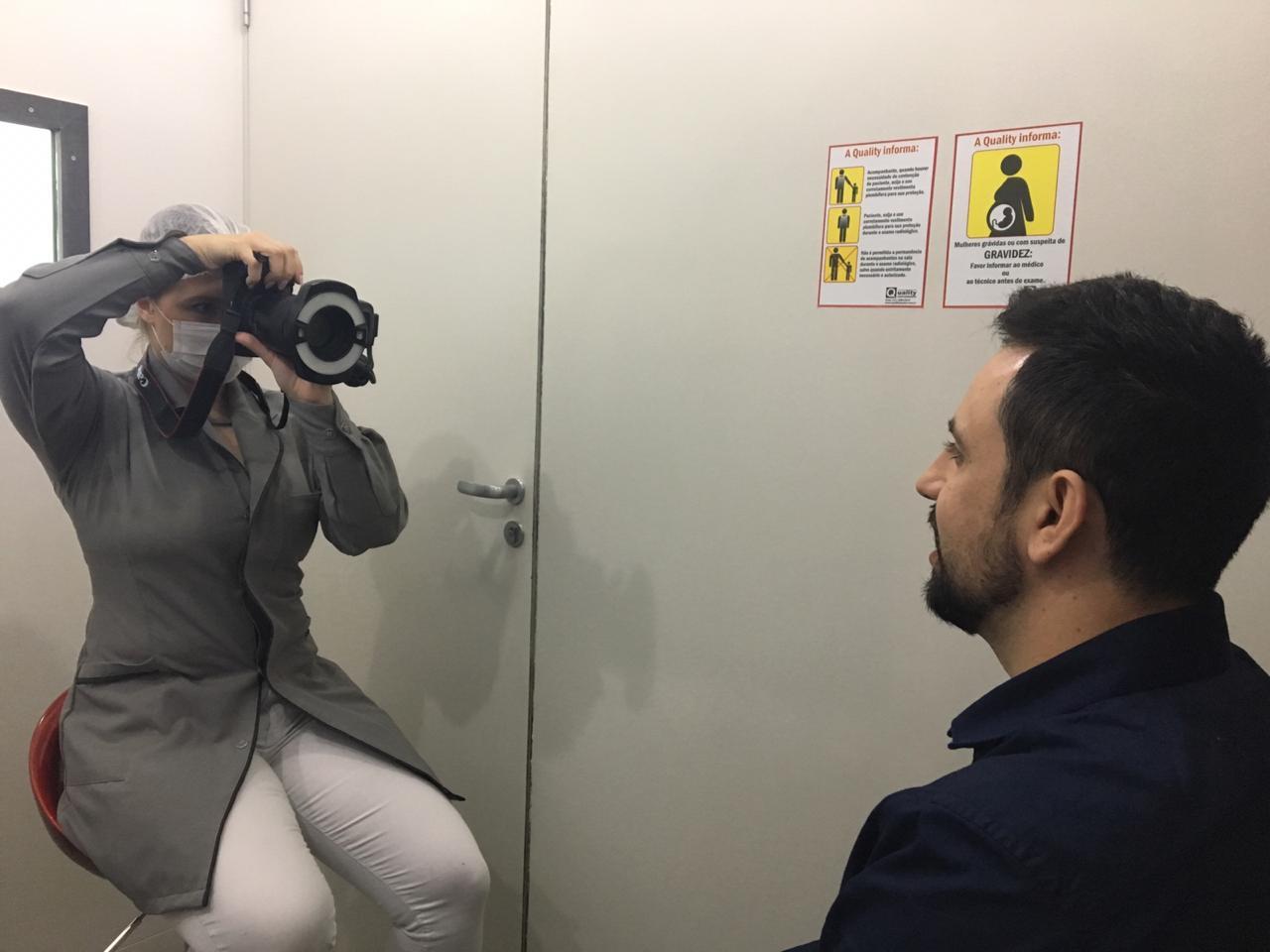 Exame - Protocolo de fotos